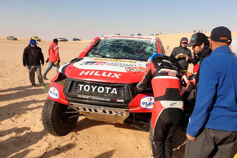Interior Toyota Dakar 2022