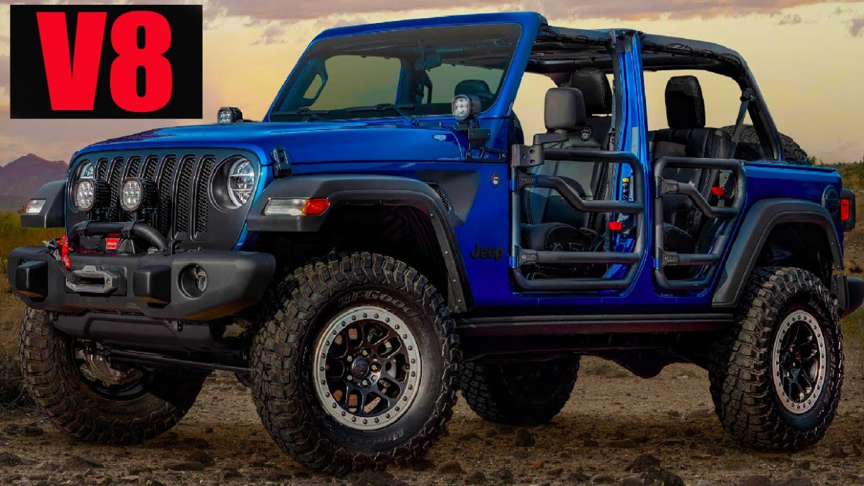 Engine 2022 Jeep Wrangler