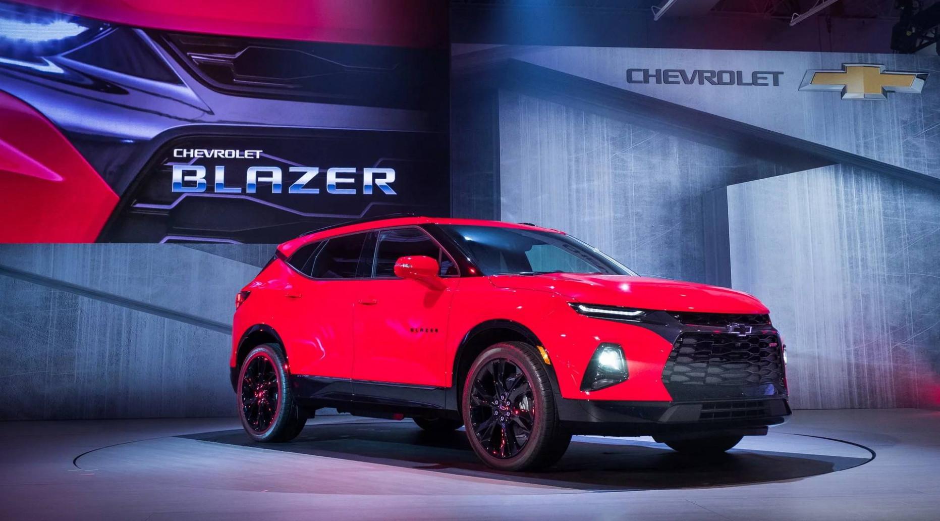 Images Chevrolet Blazer 2022
