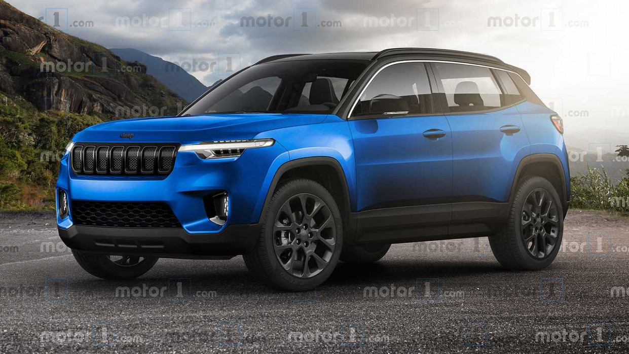 Redesign Jeep Rubicon 2022
