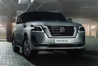 research new nissan patrol facelift 2022