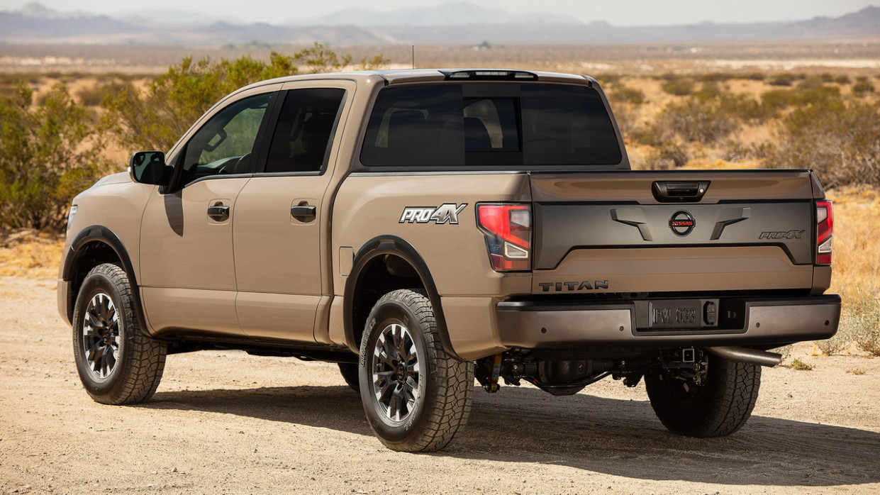 Research New Nissan Titan 2022