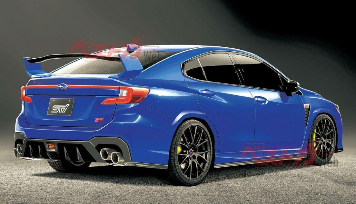 Model Subaru Wrx Sti 2022