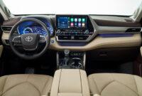 research new toyota highlander 2022 interior