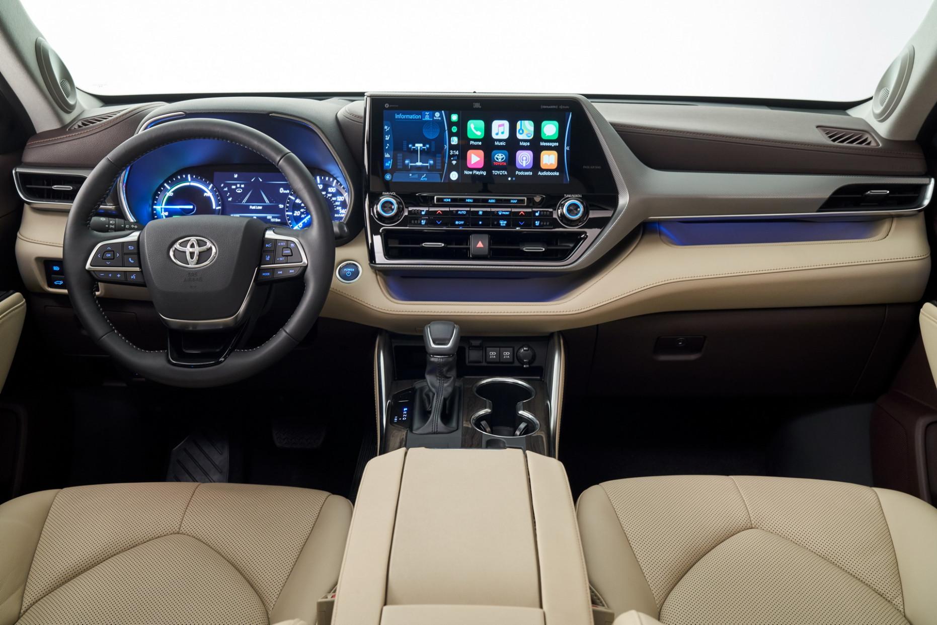 Ratings Toyota Highlander 2022 Interior