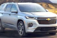 Configurations 2022 Chevrolet Traverses