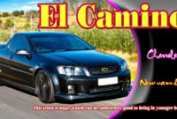 review 2022 chevy el camino ss