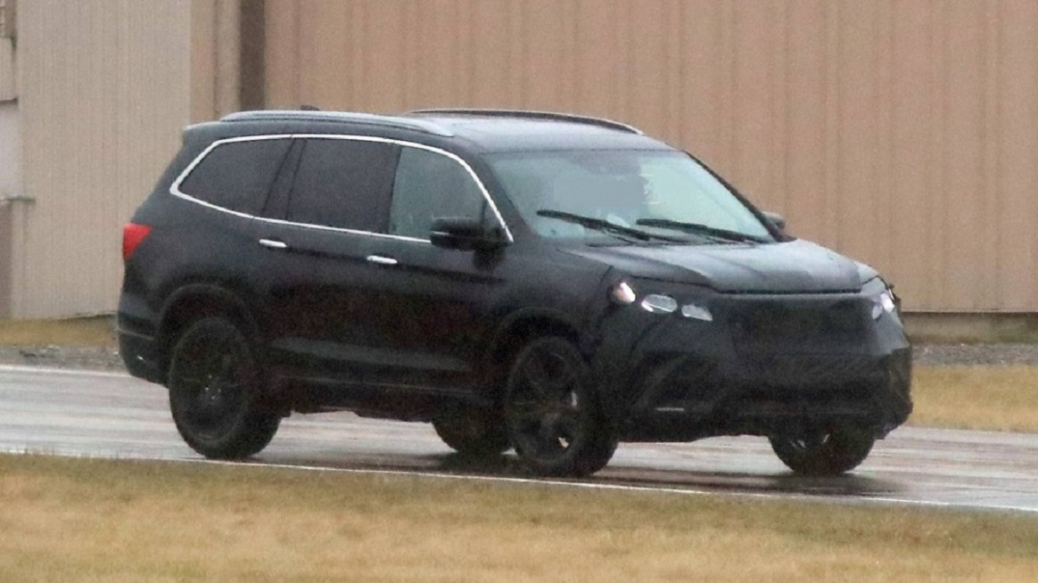 Spy Shoot 2022 Honda Pilot