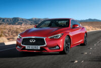 Exterior and Interior 2022 Infiniti Q60 Red Sport