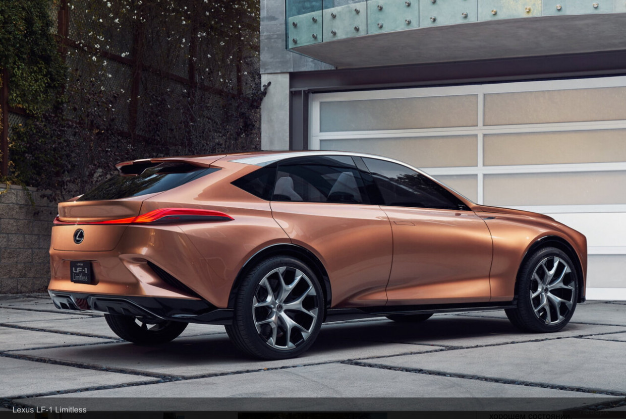 New Concept 2022 Lexus TX 350