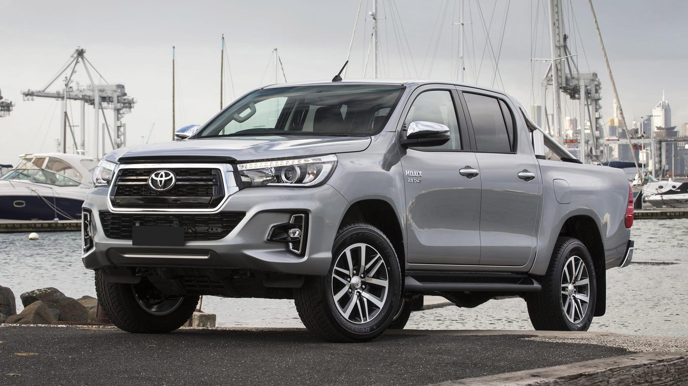 Ratings 2022 Toyota Hilux Spy Shots