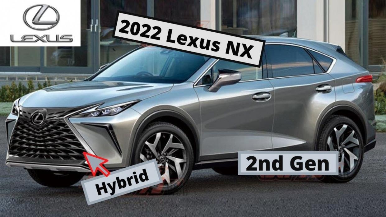 Redesign 2022 Lexus NX 200t