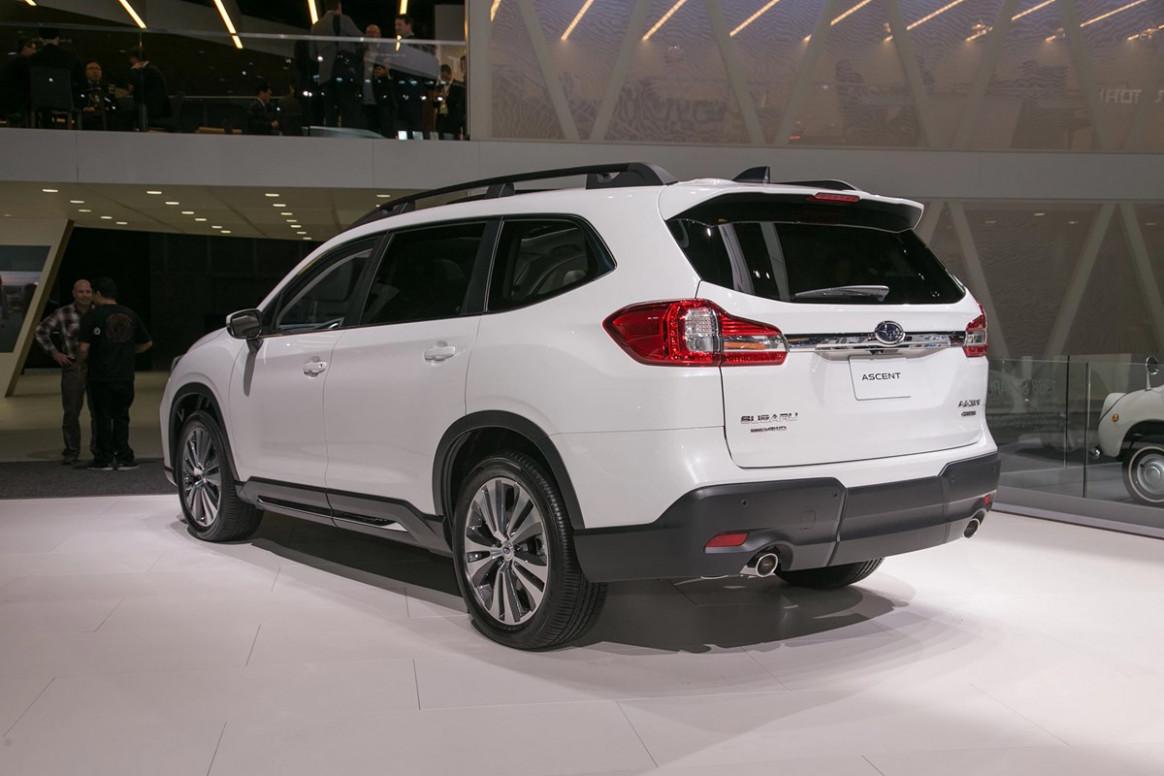 First Drive Subaru Ascent 2019 Vs 2022