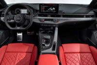 review audi a5 2022 interior