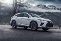 review lexus rx 350 f sport 2022