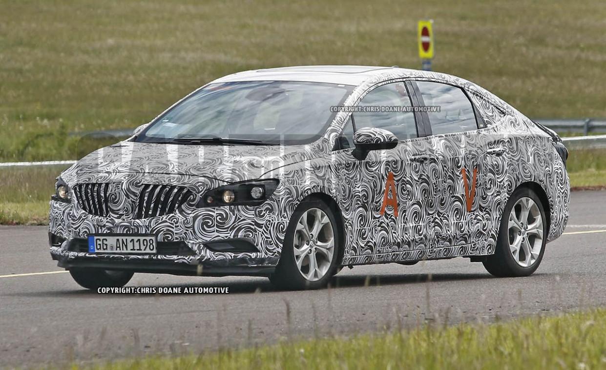 Release 2022 Buick Verano Spy
