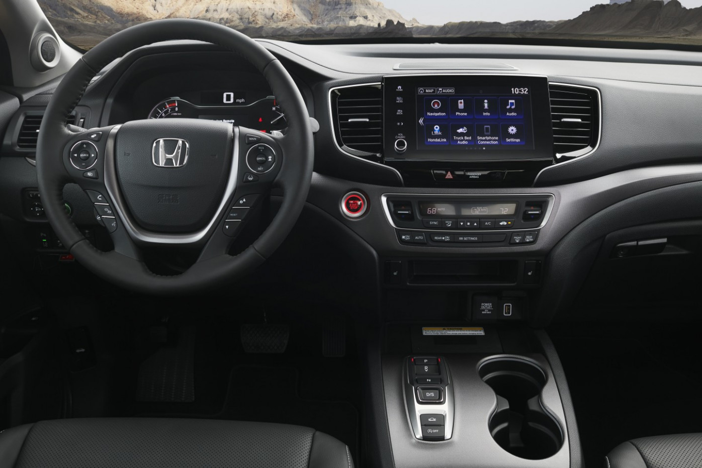 New Model and Performance 2022 Honda Ridgeline Volume Knob