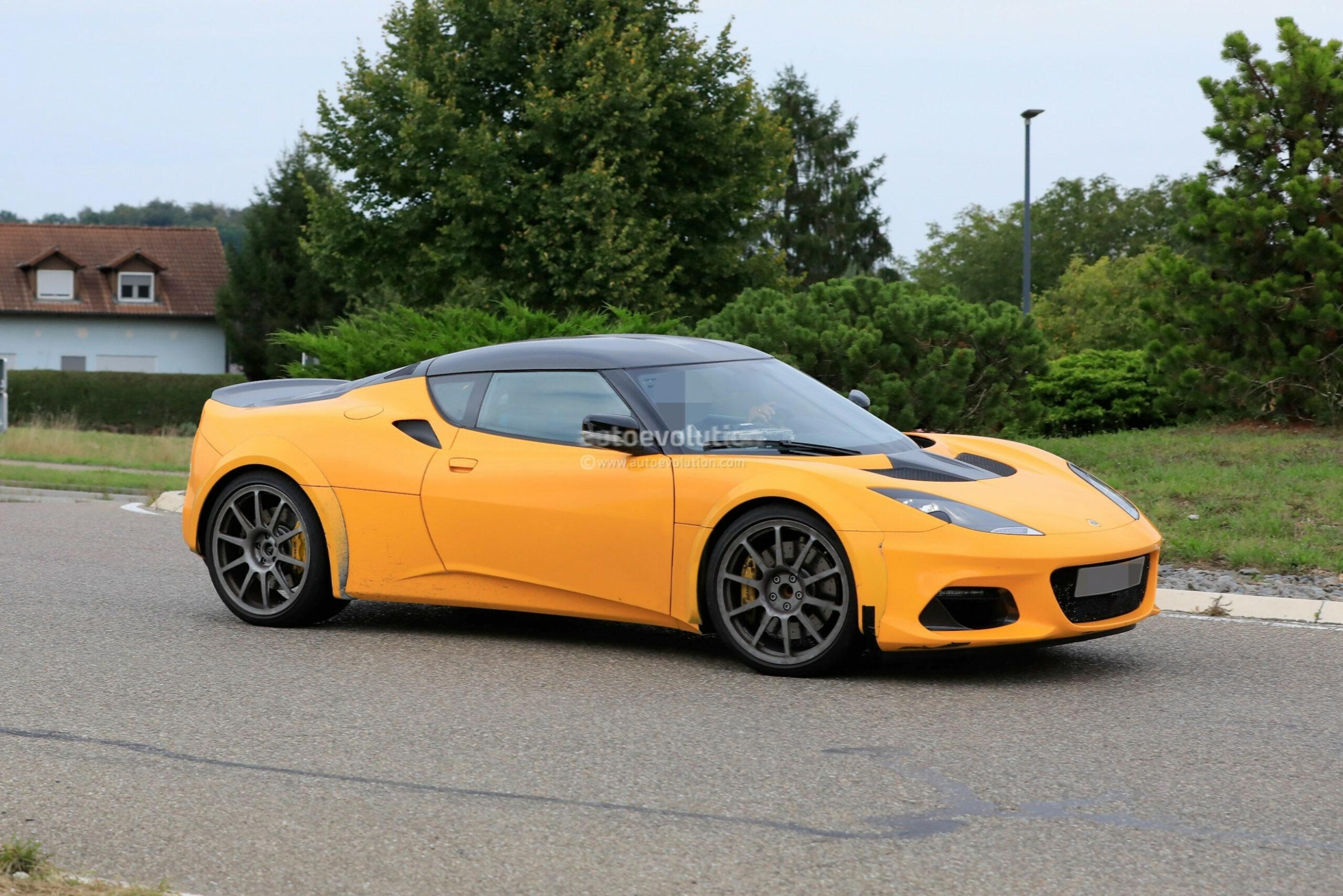Specs 2022 The Lotus Evora