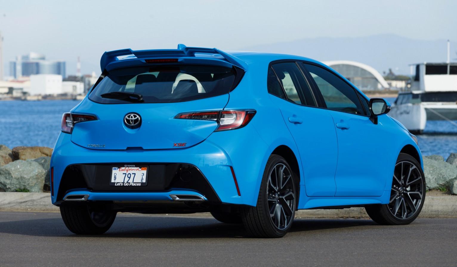 Exterior 2022 Toyota Corolla Hatchback