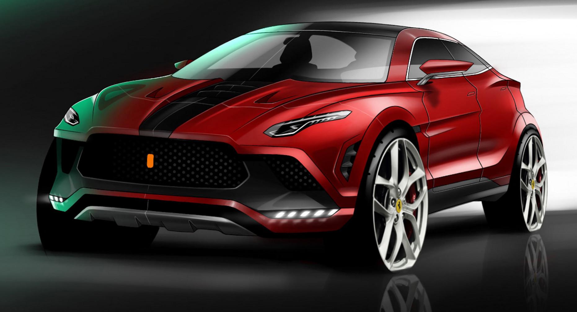 Redesign Ferrari 2022