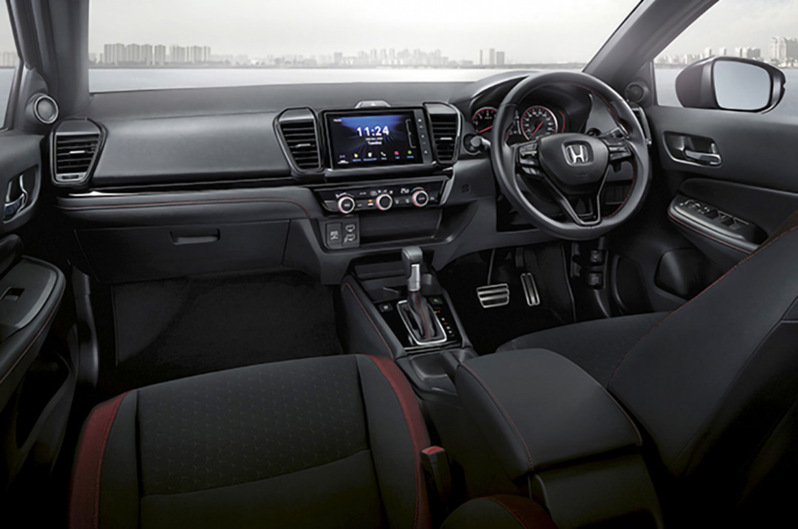 Reviews Honda City 2022 Interior