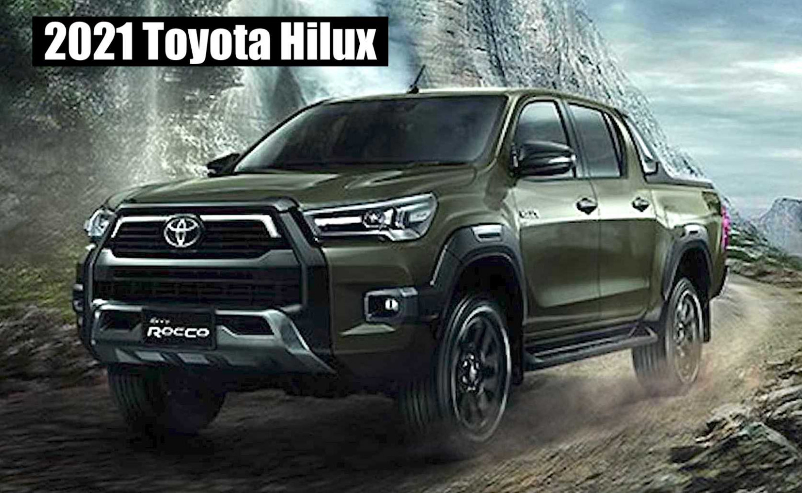 Speed Test Toyota Hilux 2022 Usa