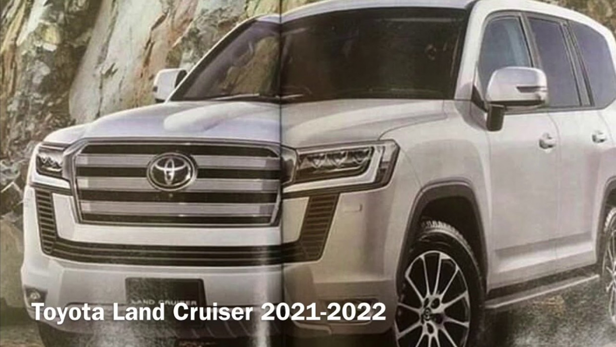 New Concept Toyota New Land Cruiser 2022