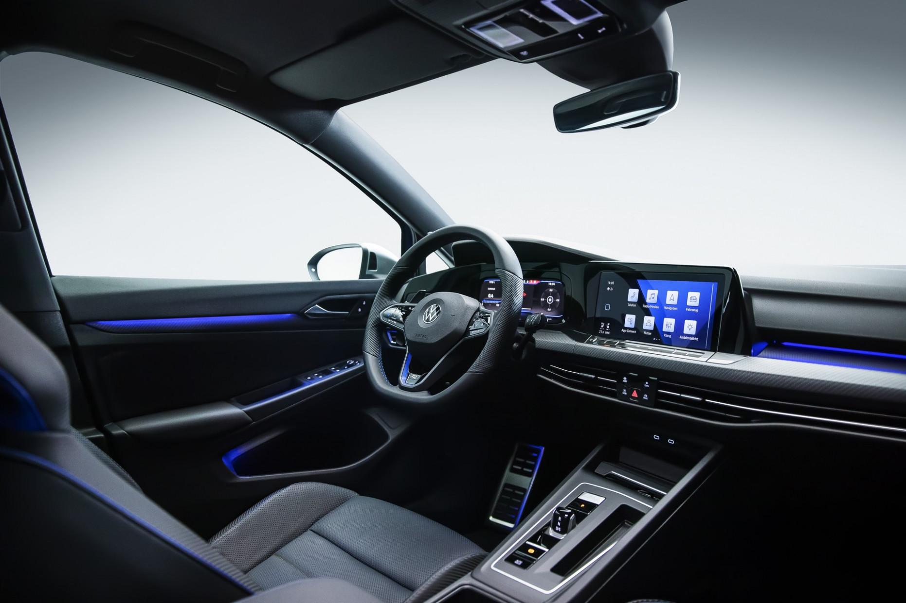 Interior Volkswagen R 2022