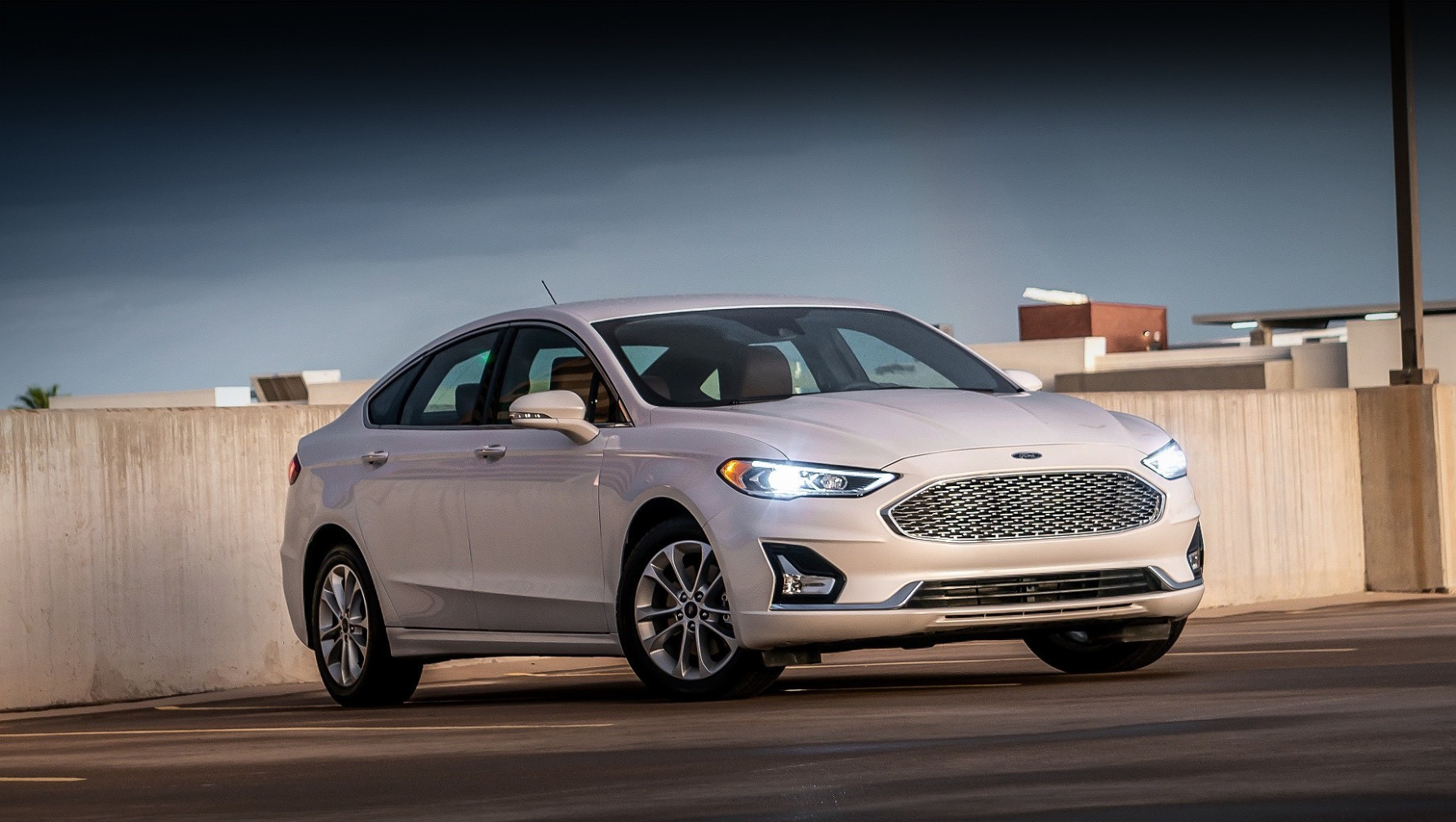 Exterior and Interior 2022 Ford Fusion