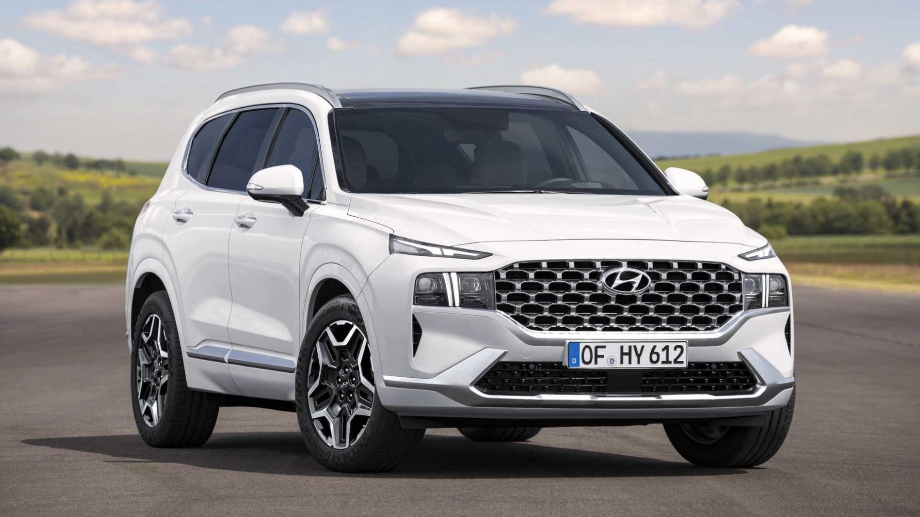 New Concept 2022 Hyundai Santa Fe