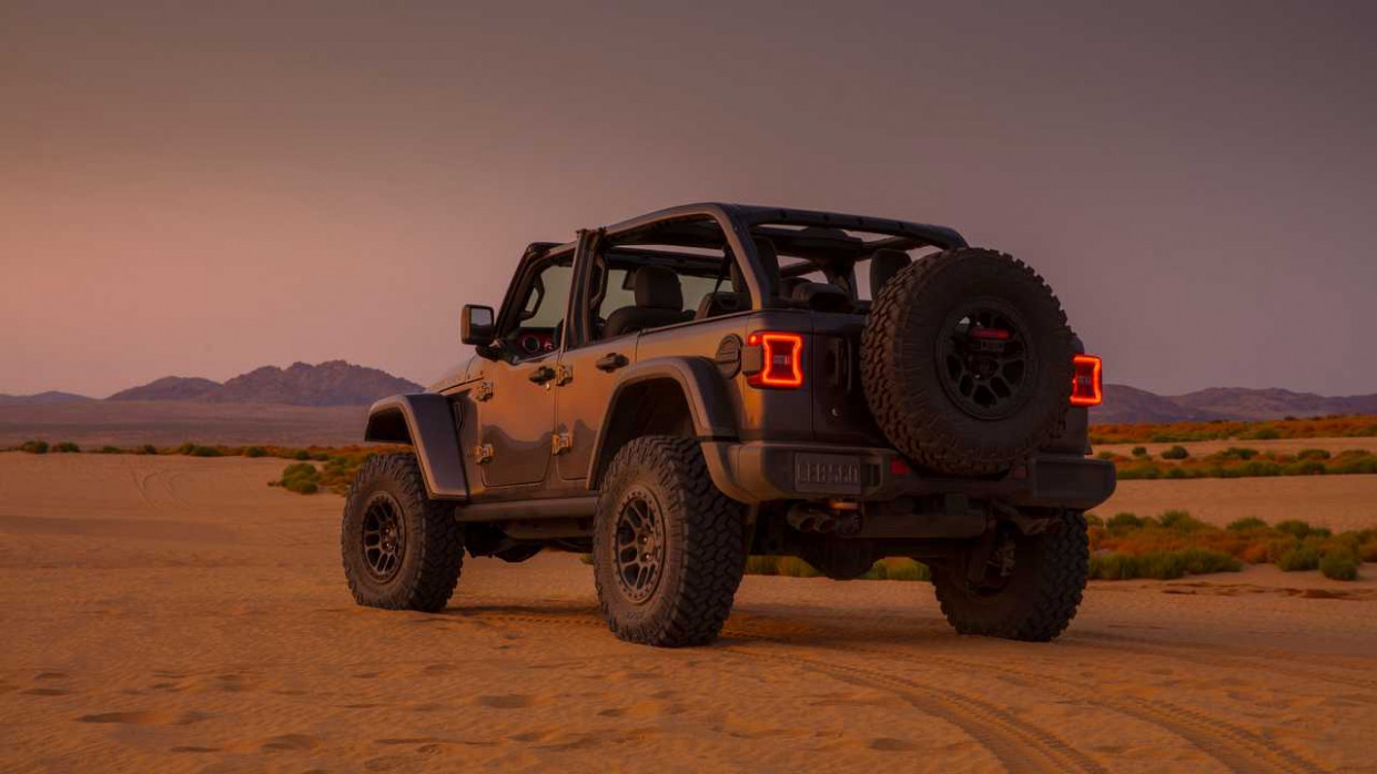 Speed Test 2022 Jeep Wrangler Unlimited