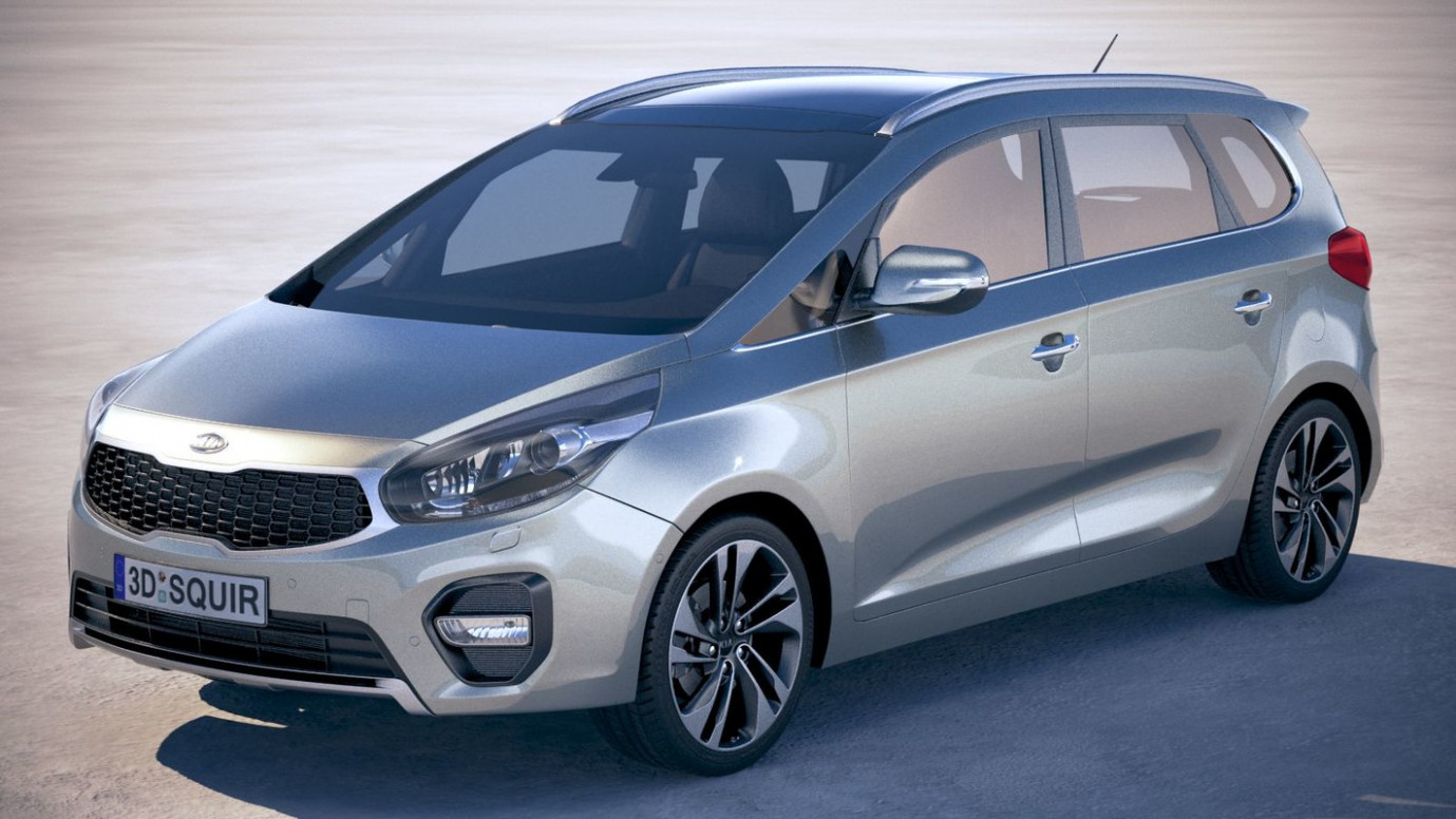 Overview 2022 Kia Carens Egypt