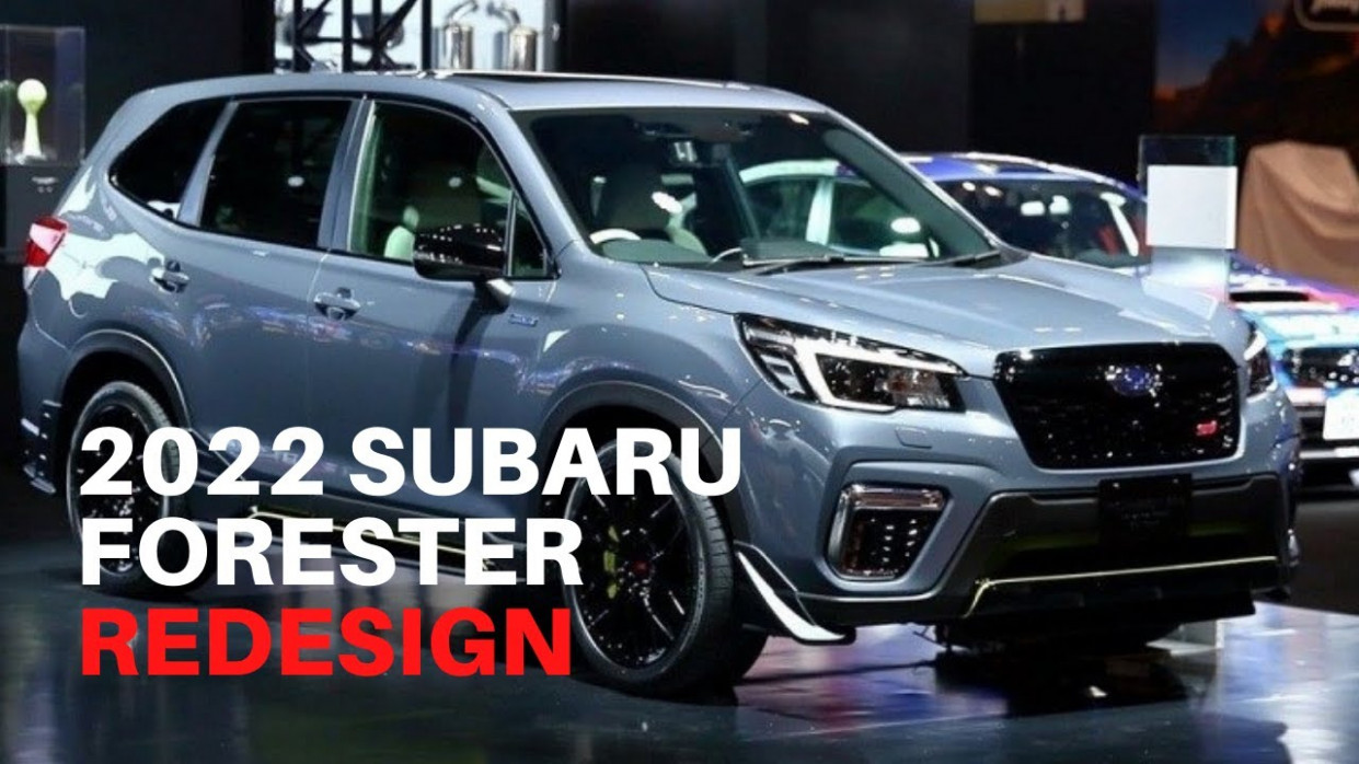 Release Date and Concept 2022 Subaru Forester