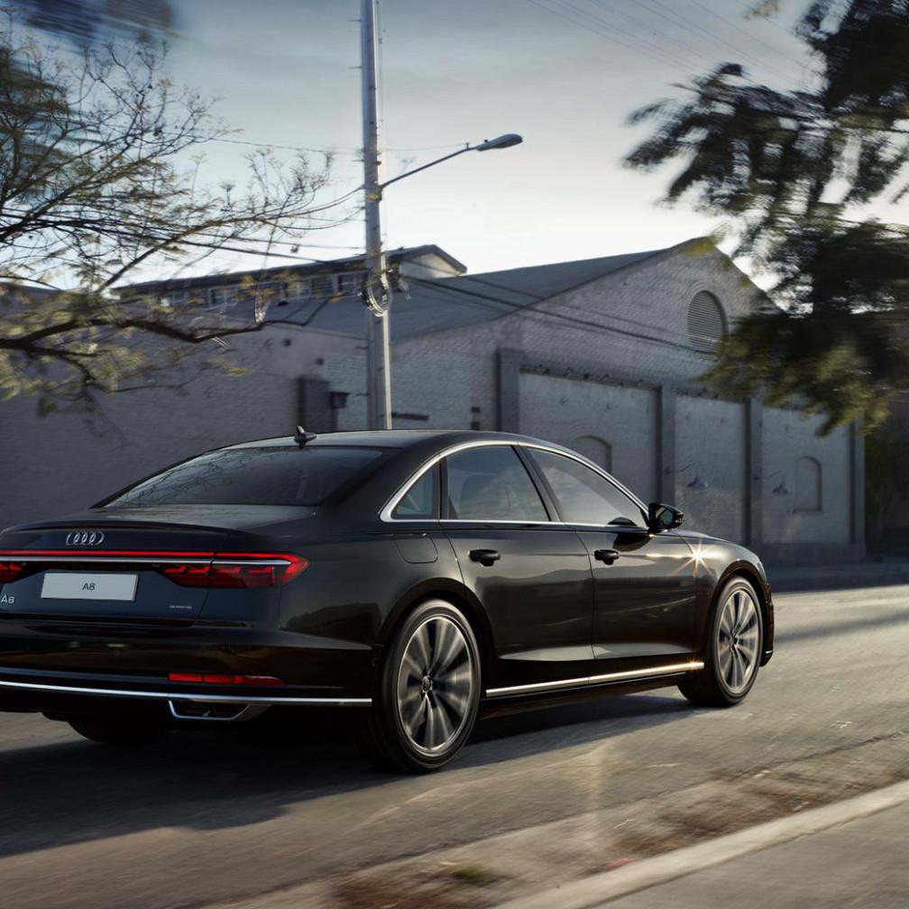 History Audi A8