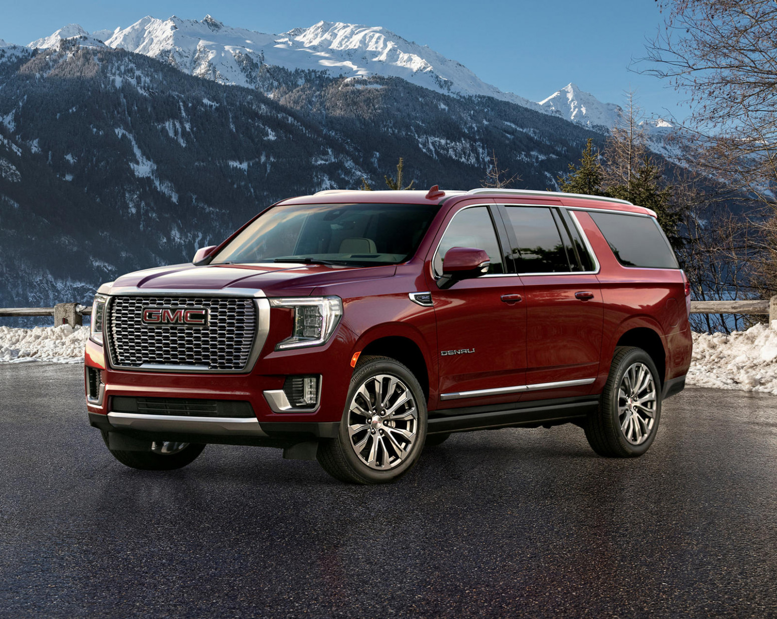 Exterior and Interior Gmc Denali Suv 2022