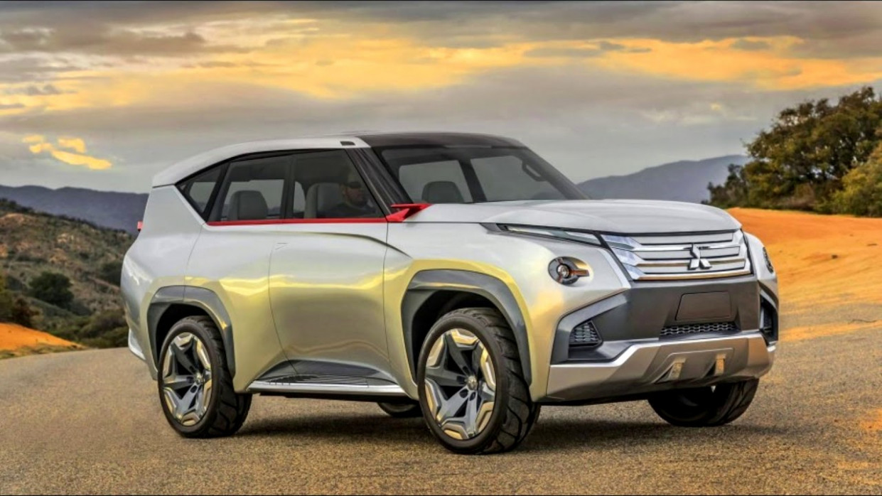 Redesign and Review Mitsubishi Pajero 2022