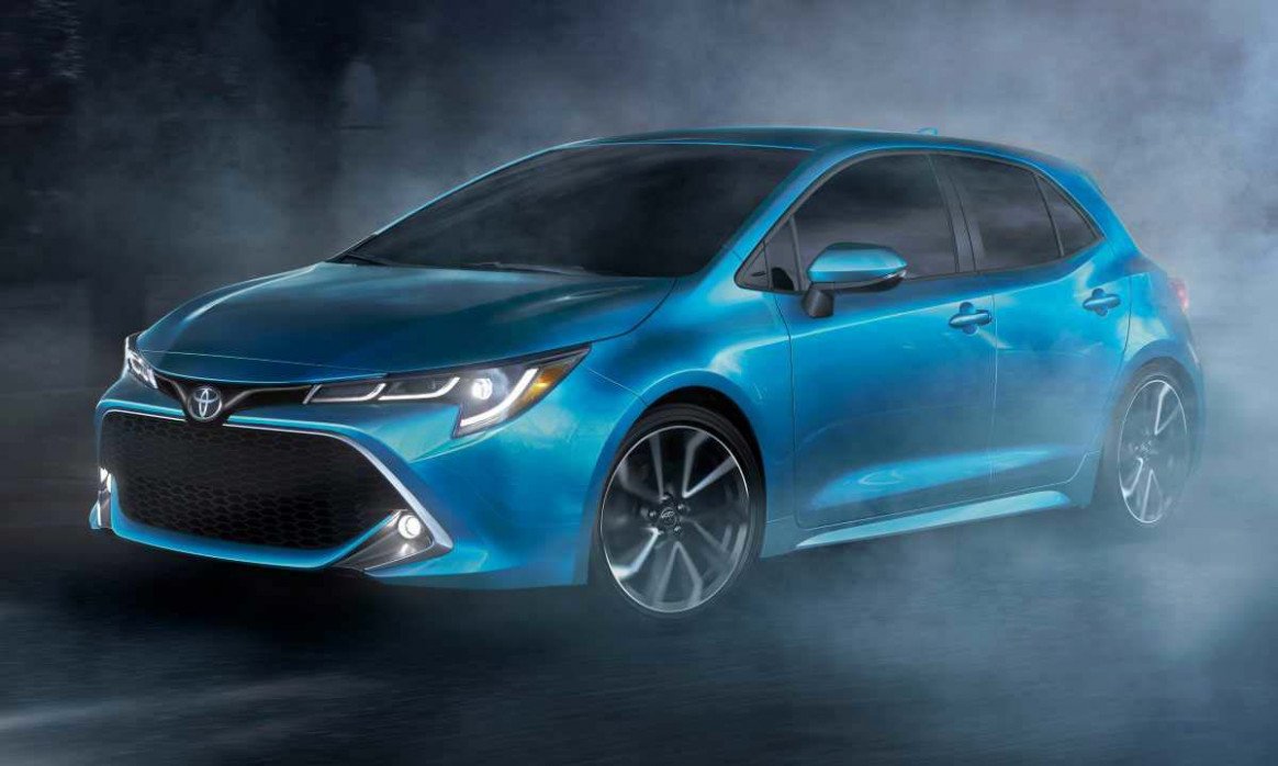 Exterior and Interior Toyota Corolla 2022 Interior