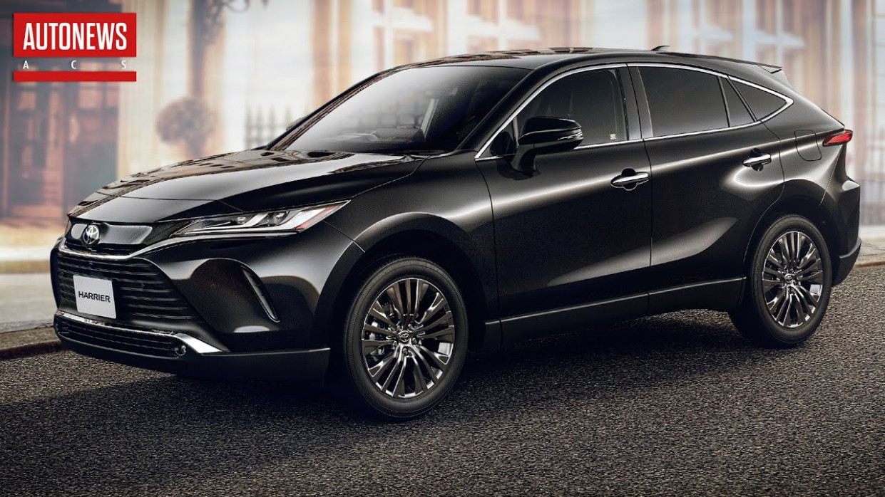 Exterior and Interior Toyota Harrier 2022
