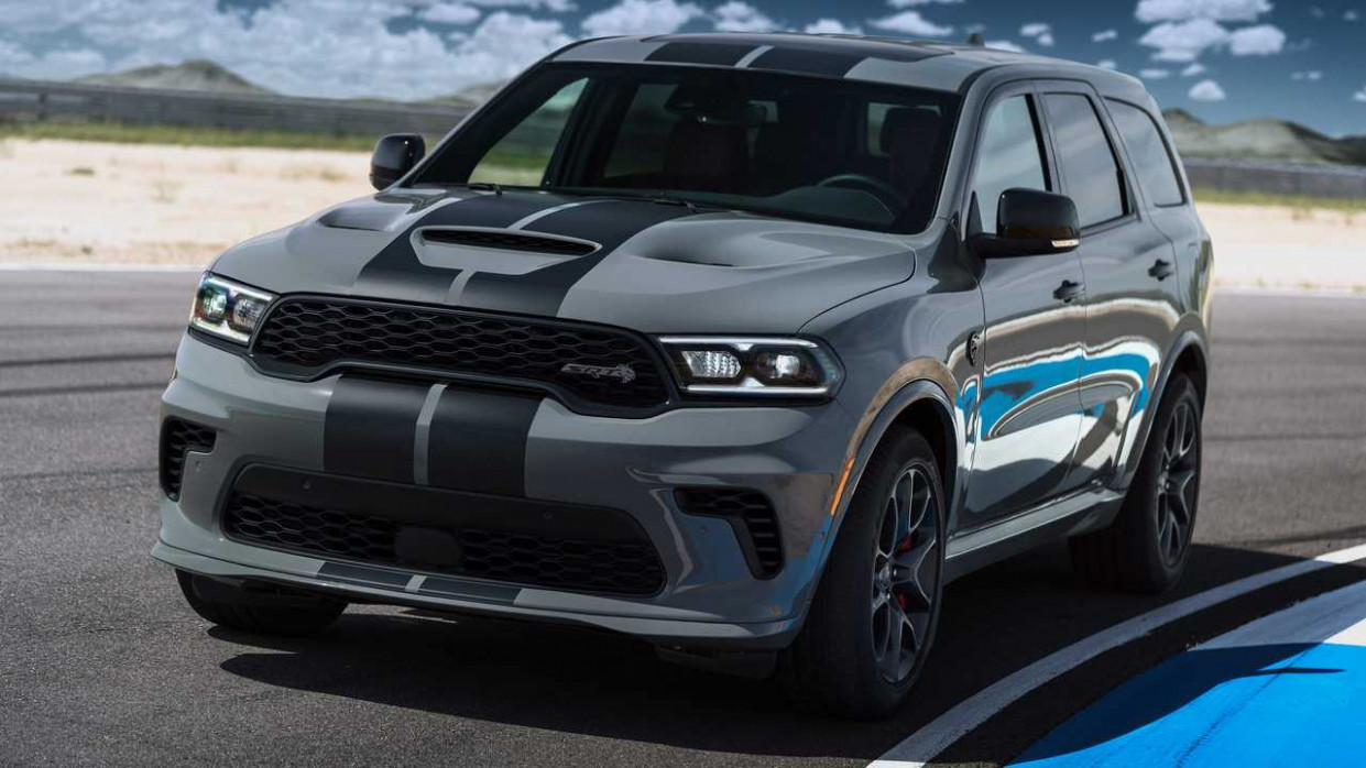 Spy Shoot 2022 Dodge Durango