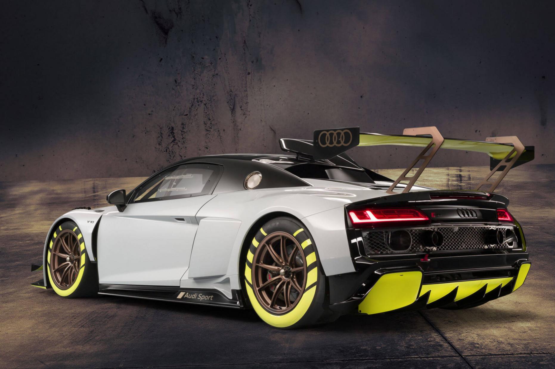 Engine 2022 Audi R8 LMXs