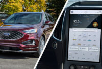 specs and review 2022 ford edge new design