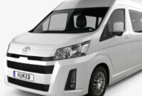 specs and review 2022 toyota hiace