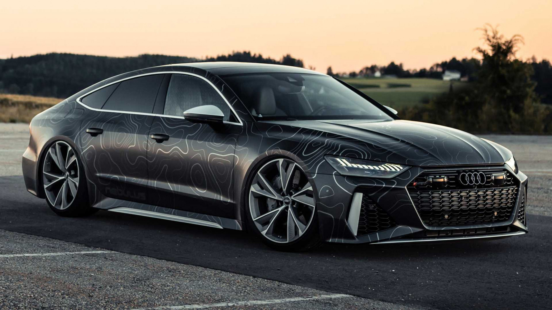 Spy Shoot Audi Rs7 2022