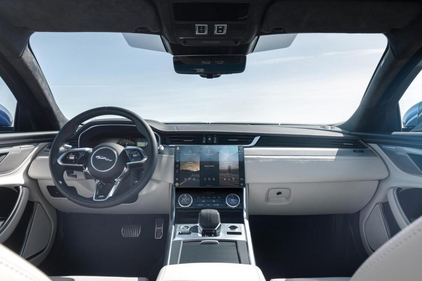 Model New Jaguar Xe 2022 Interior