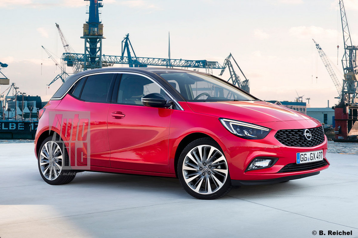 Redesign and Concept Opel Adam 2022