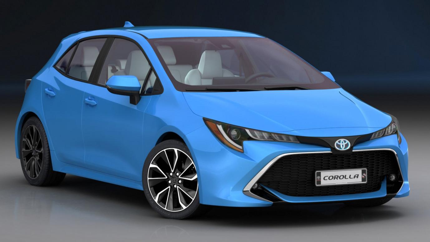 Concept Toyota Corolla 2022 Qatar