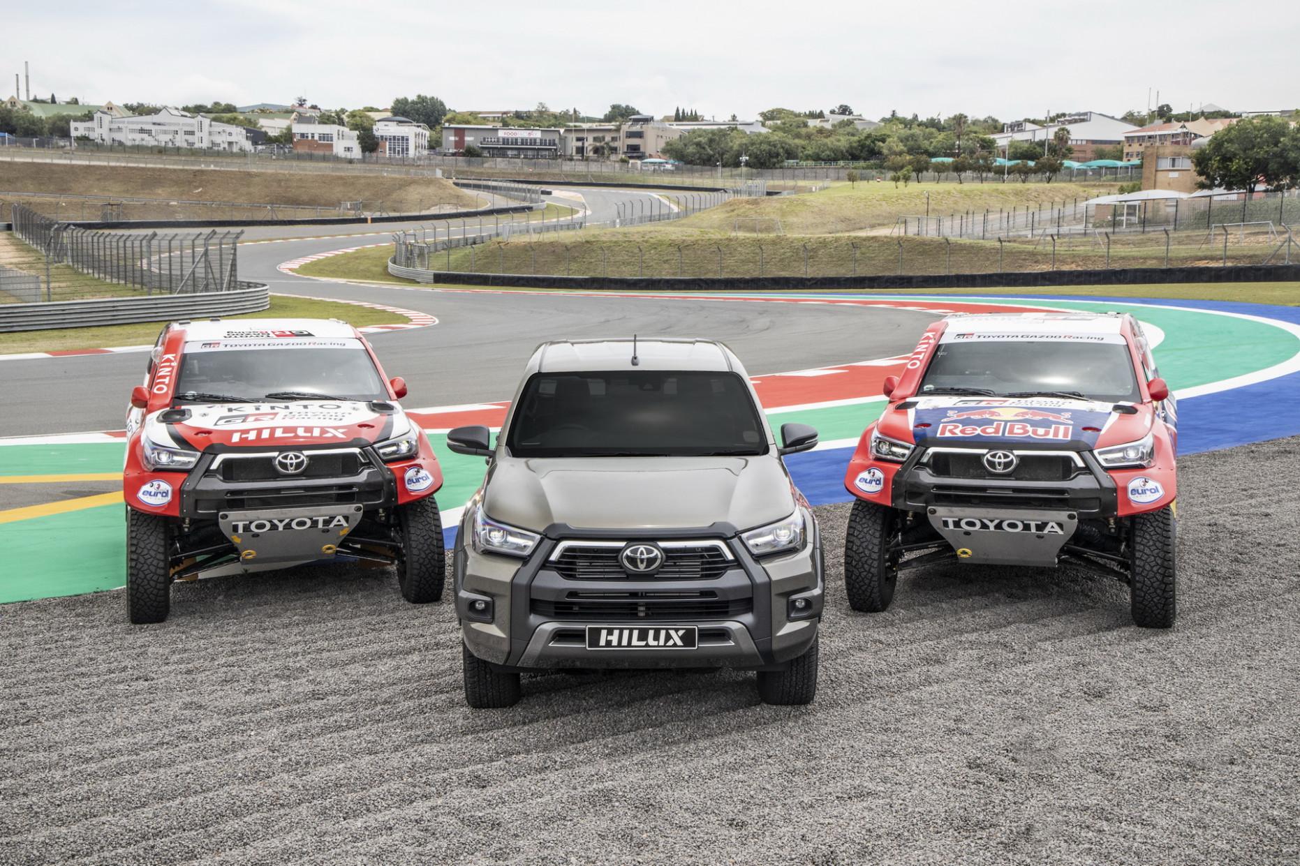 Release Toyota Dakar 2022