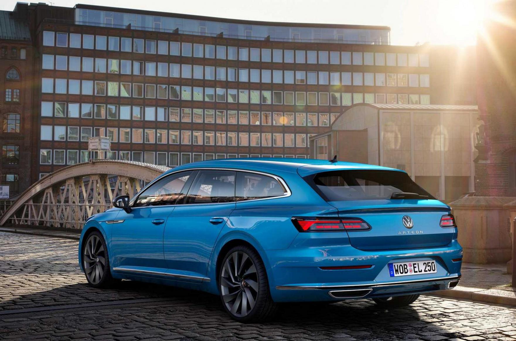 Exterior Volkswagen Arteon 2022