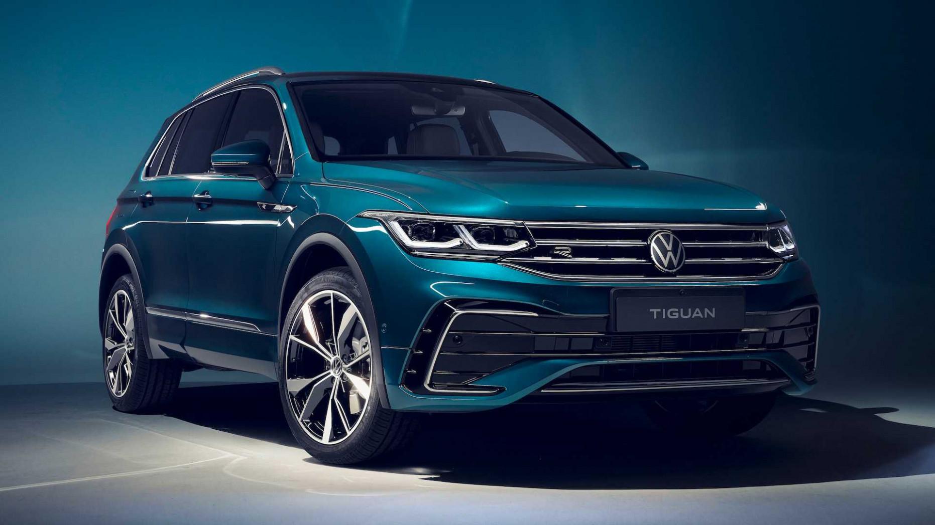 Exterior and Interior Volkswagen Tiguan 2022