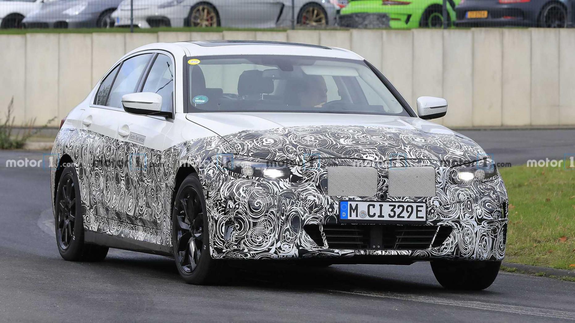 Exterior Spy Shots BMW 3 Series